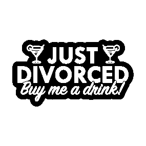 divorced stickers teepublic