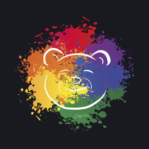 Pride Colors Bear