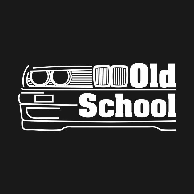 E30 Old School - White