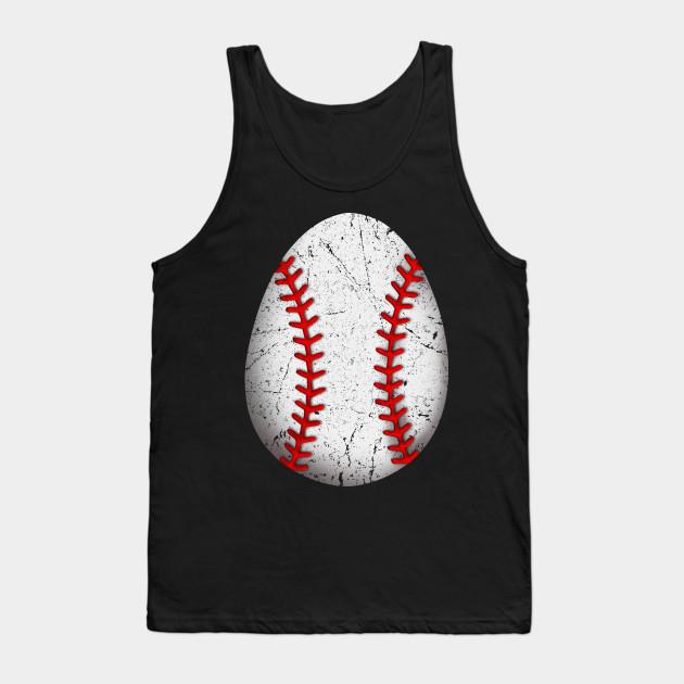 1c11a2d0c8cd Baseball Egg Easter 2019 T shirt Men Women Baseball lovers Tank Top