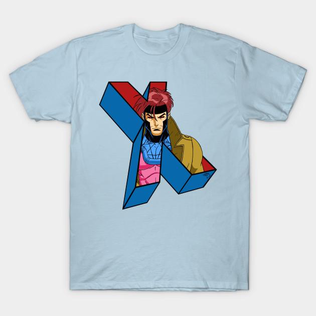 f10c14231 Gambit 'Pop Out' X-Men Shirt Wolverine Logan Marvel Comics Deadpool New  Mutants X-Force Avengers T-Shirt