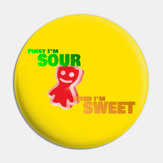 Sweet Then Sour 'Patch Kid'