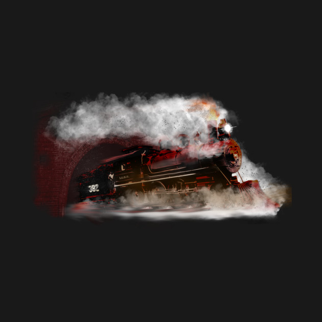 Cannon Ball Express Train Design by MotorManiac