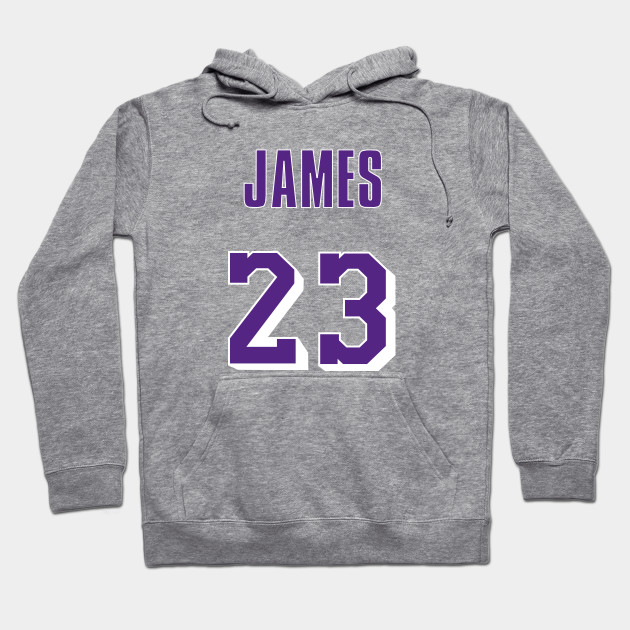 pretty nice df39d e8656 LeBron James Throwback Lakers Jersey 1