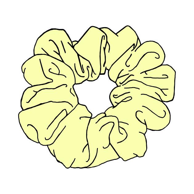 Scrunchie Yellow