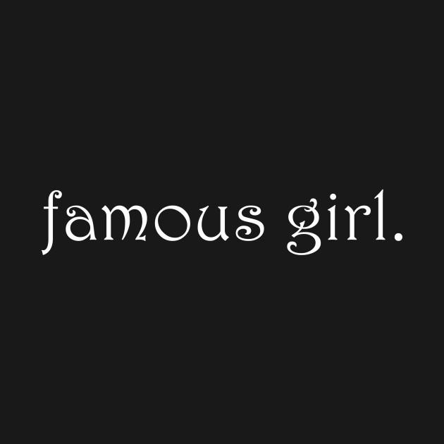 famous girl