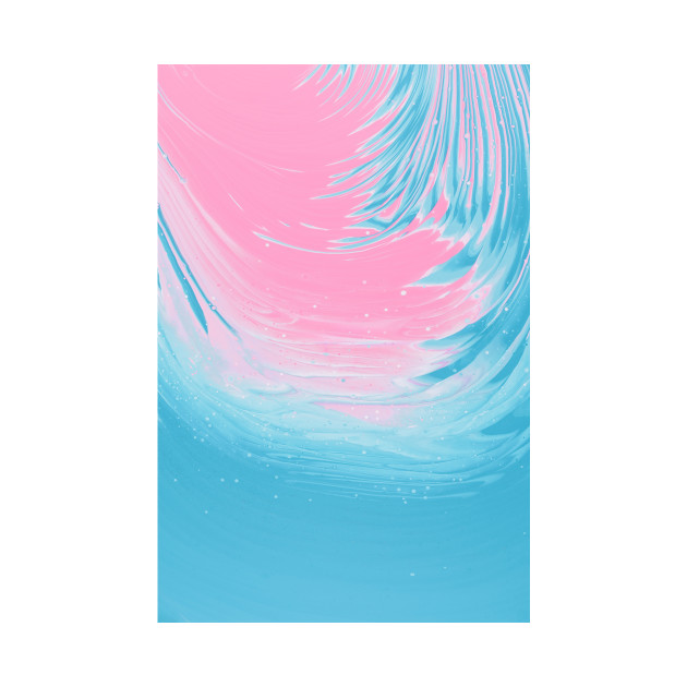 Pink & Blue Painting