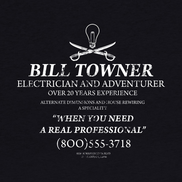 Bill Towner, Electrician and Adventurer