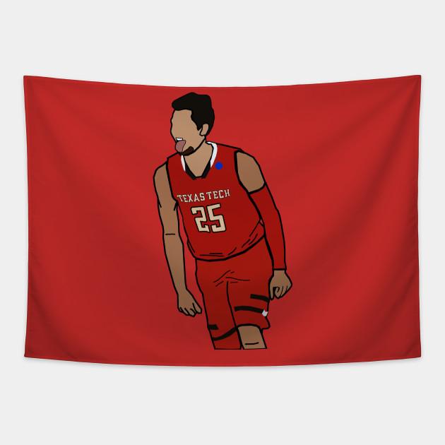 Davide Moretti - NCAA College Basketball Texas Tech Red Raiders
