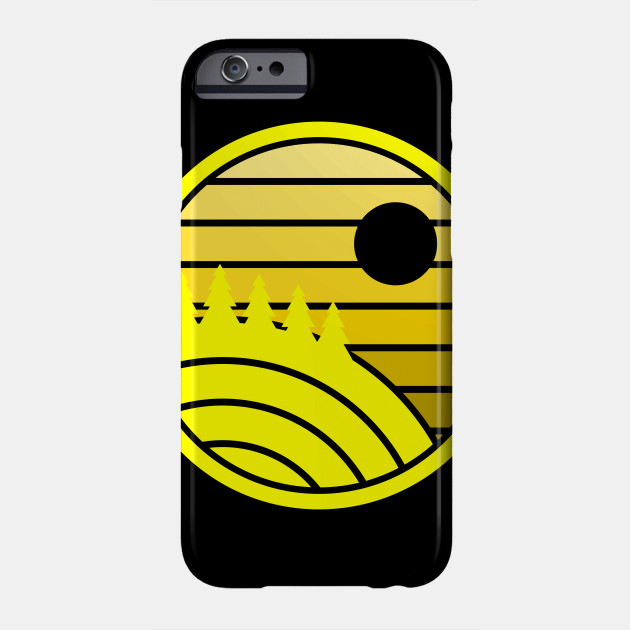 Yellow Earth Phone Case