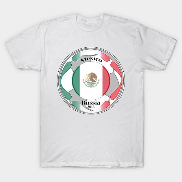 0c6ec51e8 t-shirt flag mixeco world cup 2018 - Fifa World Cup Russia 2018 - T ...