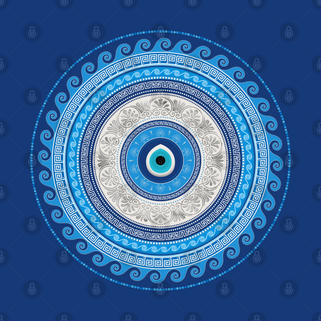 Greek Mati Mataki - Matiasma Evil Eye ornament