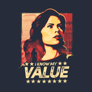 I Know My Value t-shirts