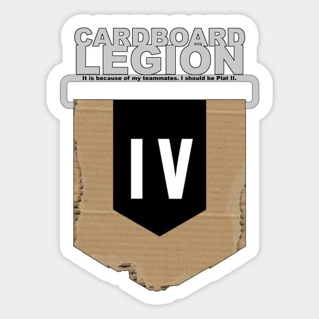 Rank: Cardboard IV