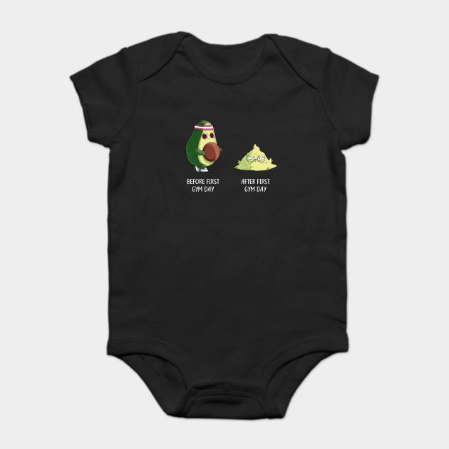 41df4c983 Avo-Cardio Avocado Gym Fitness T-Shirt - Avocado - Onesie | TeePublic