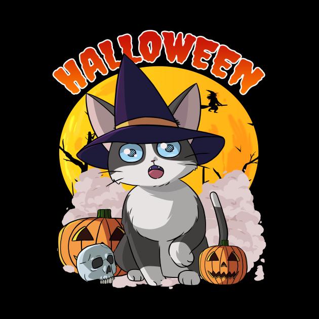 Cat Happy Halloween