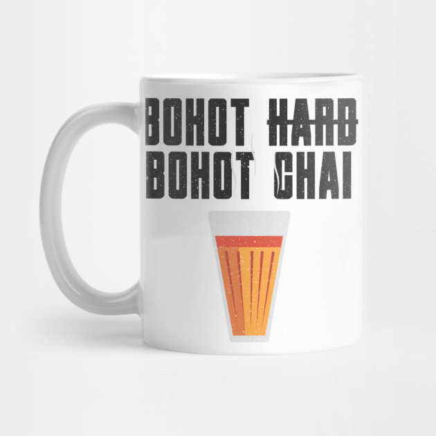 Funny Bohot Chai Hindi Quote Chai Mug Teepublic