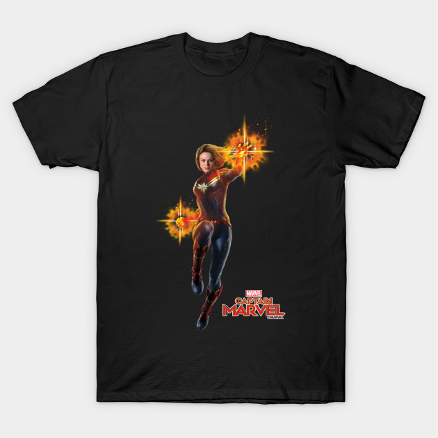 Captain Marvel punch shirt