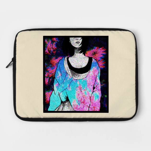 Manga Girl Tumblr Clothes Japanese Aesthetic Manga Laptop Case