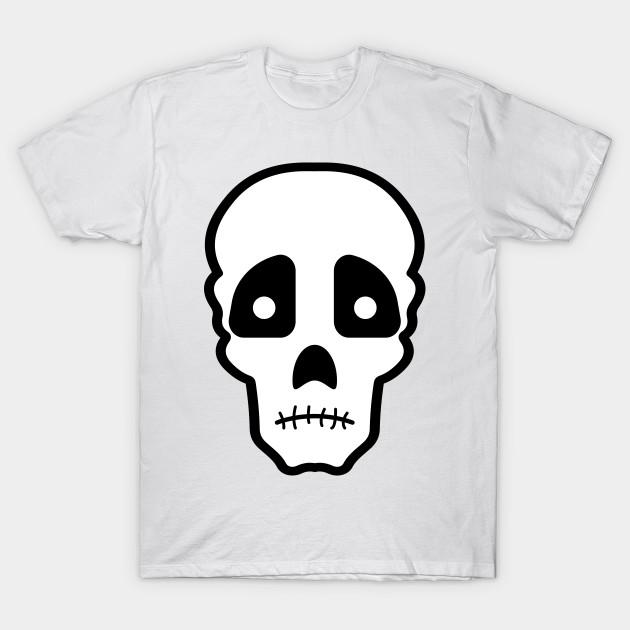 68a9ad2be379 Sad skull - Sad Skull - T-Shirt | TeePublic