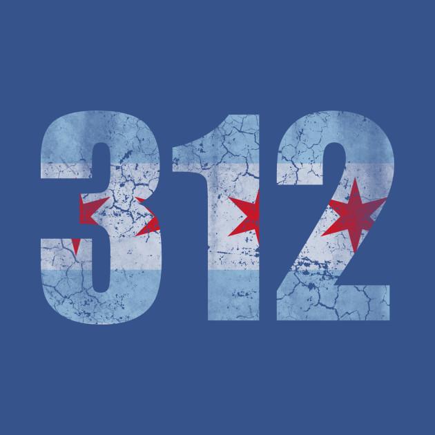 312 Chicago Flag