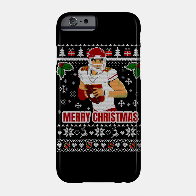 Patrick Mahomes Ugly christmas sweater Phone Case