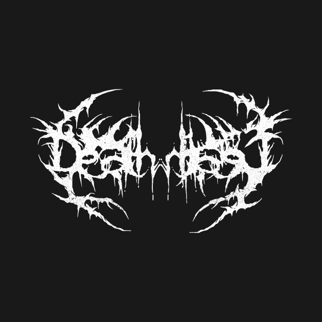 Death Metal Logo - Death Metal Logo - T-Shirt | TeePublic