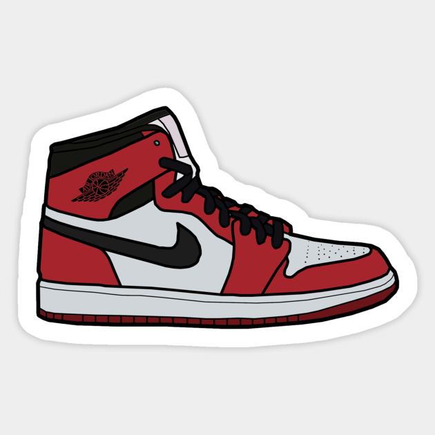 sticker air jordan 1