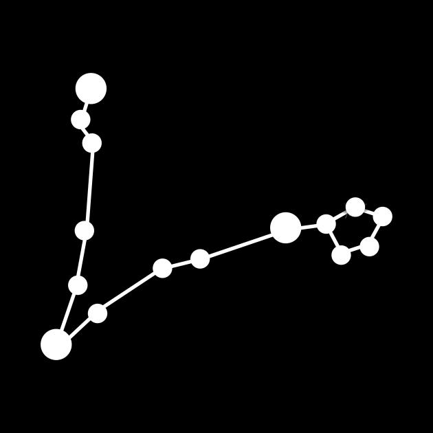 Zodiac sign Pisces constellation