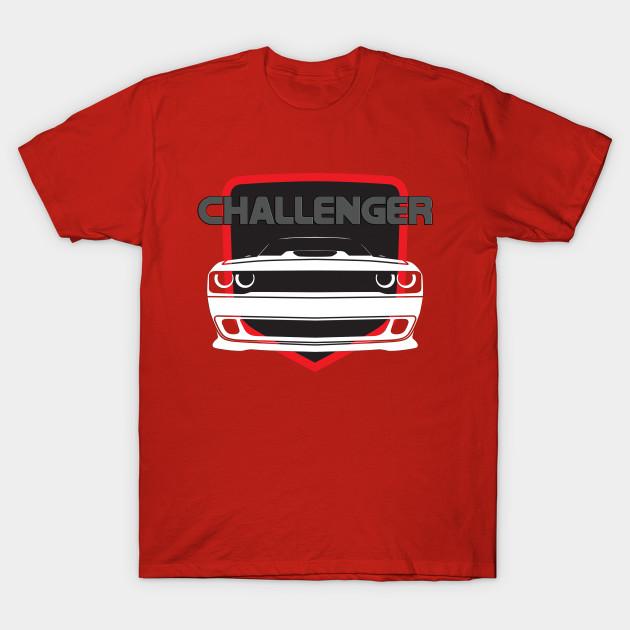 Dodge Challenger T-Shirt V2 Red