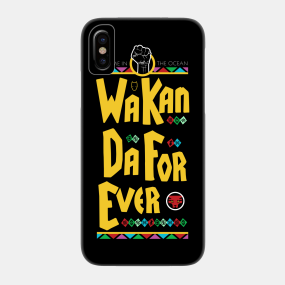 Spike Lee's Black Panther Phone Case
