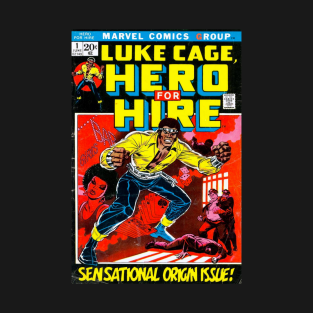 Luke Cage T-Shirts and Marvel Fan Art | TeePublic
