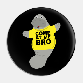 Manatee Pins and Buttons | TeePublic