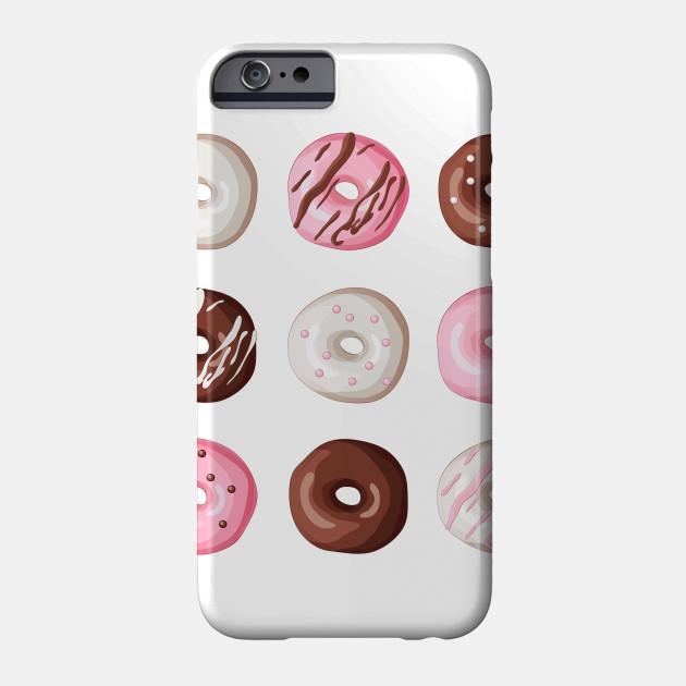 Donut Pattern Dessert Print