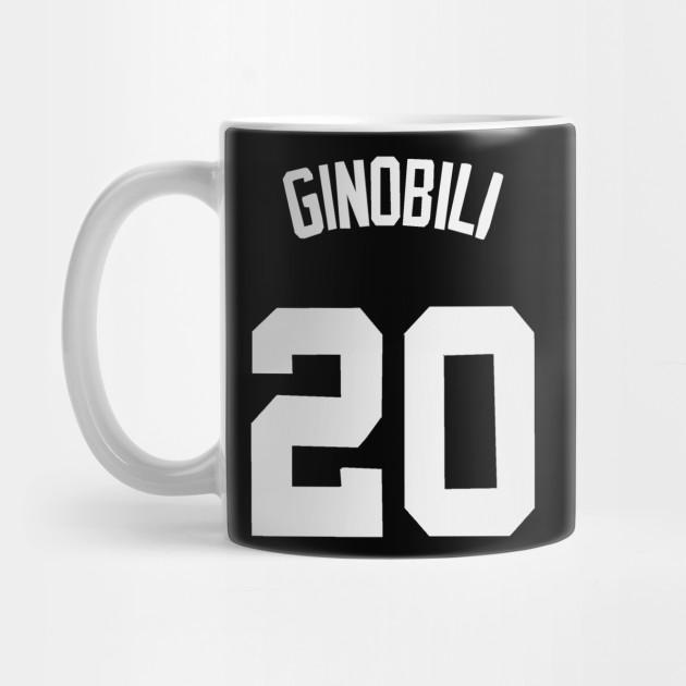 check out e21a1 bd773 Manu Ginobili Jersey - San Antonio Spurs by xavierjfong