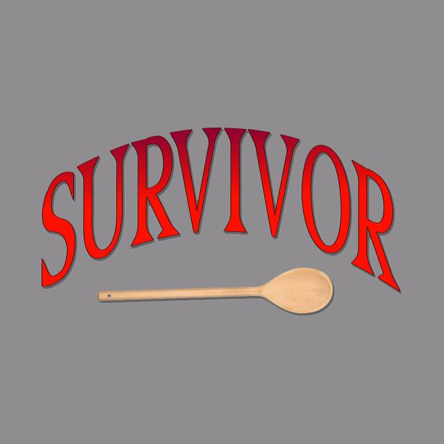 Wooden Spoon Spanking Survivor