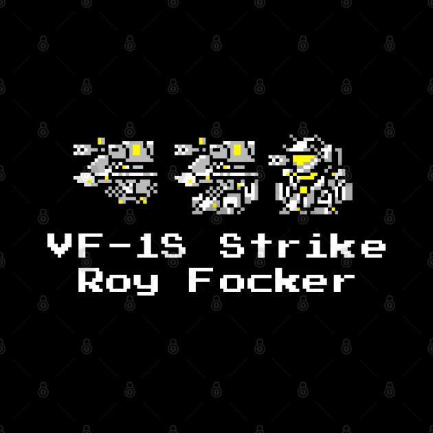 8bit DYRL VF-1S Strike  Roy Focker