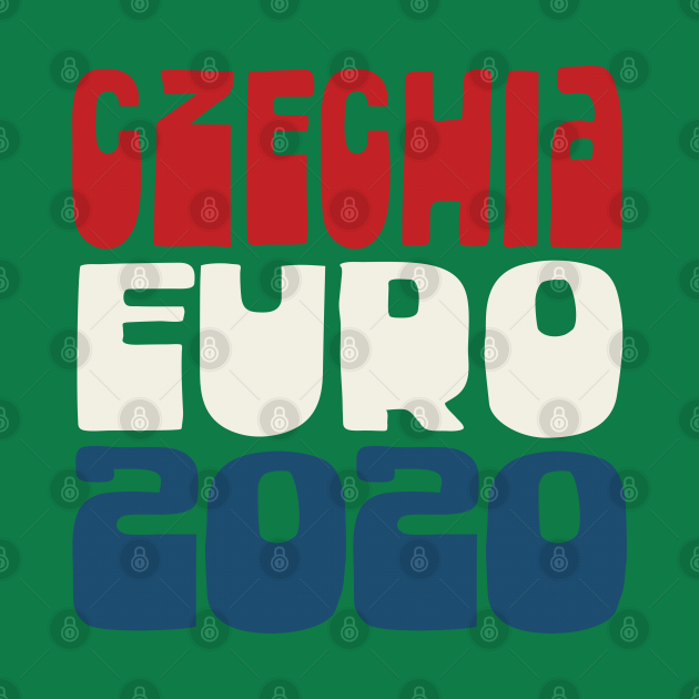 Czech Republic  / Euro 2020 Football Fan Design
