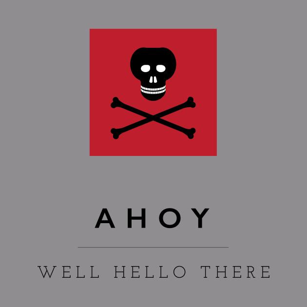Ahoy! Pirate Flag