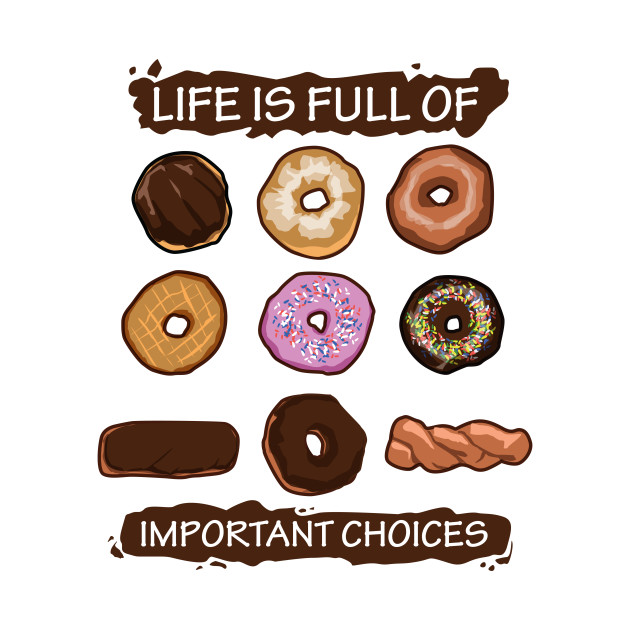 Important Choices Donuts