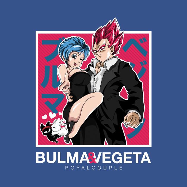 Vegeta & Bulma - Red