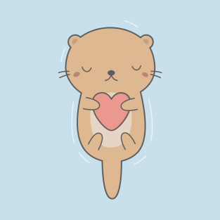 Cute Otter T Shirts Teepublic