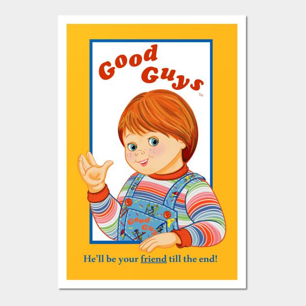 Child\'s Play - Good Guys - Chucky - Chucky - Wall Art | TeePublic