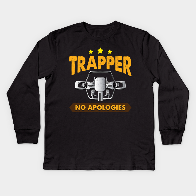 No Apologies Trapping Tee Steal Trap Fur Traders