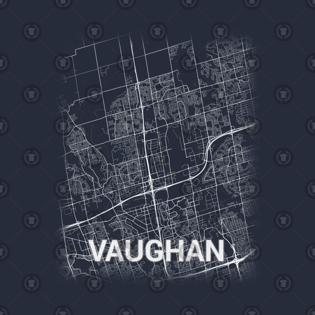 Vaughan Canada Ontario City Map