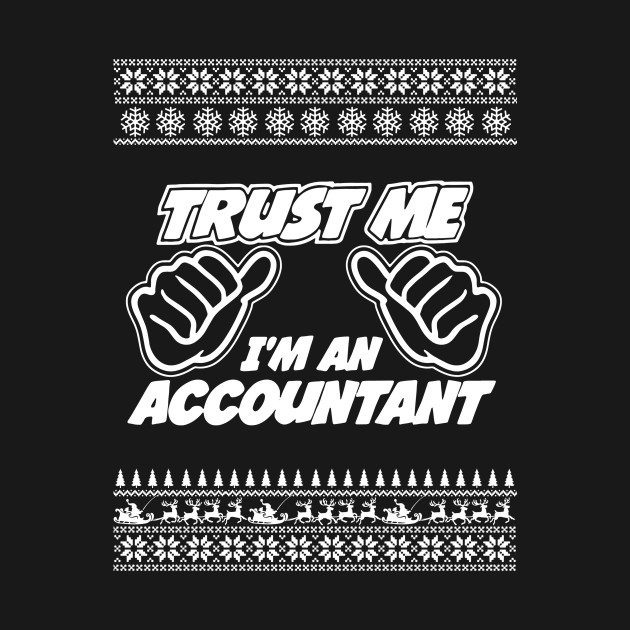 Trust Me, I'm An Accountant - Merry Christmas