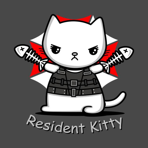 Resident Kitty T-Shirt