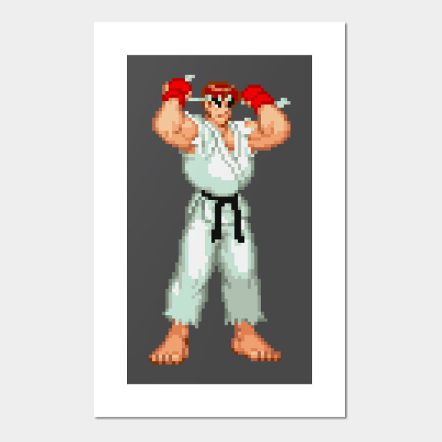 Ryu Street Fighter 2 Alpha Ryu Street Fighter 2 Alpha Posters