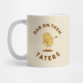dab on them haters mugs teepublic