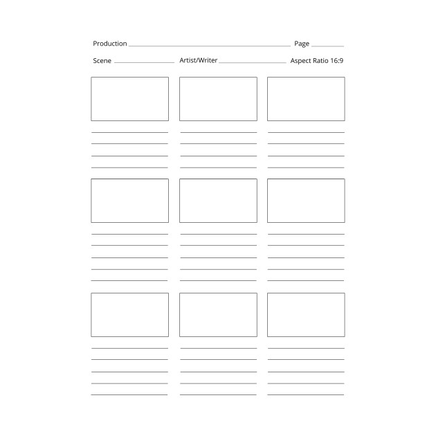 image regarding Printable Storyboard identify Minimal Version. Unique Printable Storyboard Template (Educated)